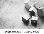 wooden building blocks | Shutterstock . vector #388475929