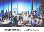 business people meeting... | Shutterstock . vector #388484677