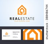 real estate logo and business... | Shutterstock .eps vector #388486744