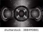 dark black color light abstract ... | Shutterstock .eps vector #388490881
