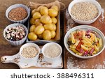 healthy food  best sources of... | Shutterstock . vector #388496311