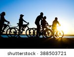 photo of sporty company friends ... | Shutterstock . vector #388503721