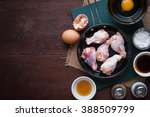 preparation for cooking in home ... | Shutterstock . vector #388509799