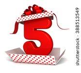 3d Open Surprise Gift Box...