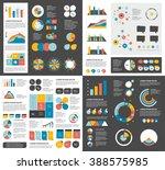 mega set of infographics... | Shutterstock .eps vector #388575985