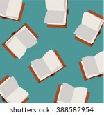 book vector pattern | Shutterstock .eps vector #388582954
