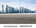 the modern urban commercial... | Shutterstock . vector #388589569
