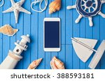 smartphone mock up template for ... | Shutterstock . vector #388593181