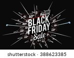 black friday sale  promo... | Shutterstock .eps vector #388623385