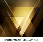 color abstract geometric banner ... | Shutterstock . vector #388624411