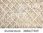 Wall Texture With Sugar Palm...