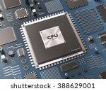 processor  microchip ...   Shutterstock . vector #388629001