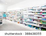 products arranged in shelves at ... | Shutterstock . vector #388638355