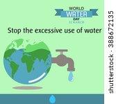 World Water Day Illustration...