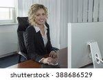 a confident businesswoman | Shutterstock . vector #388686529