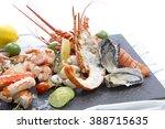 Seafood Dish Of Lobster  Prawn...