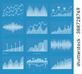 business graphs statistics and... | Shutterstock . vector #388728769