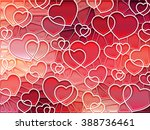 abstract geometric mosaic... | Shutterstock .eps vector #388736461
