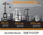 building under construction... | Shutterstock .eps vector #388741039