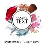 beautiful cosmetic promotion... | Shutterstock . vector #388741891