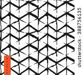 hand draw chevron pattern in... | Shutterstock .eps vector #388756135
