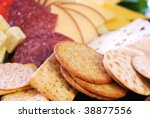 Platter Of Assorted Cheeses ...