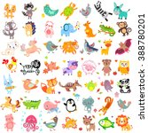 vector illustration of cute... | Shutterstock .eps vector #388780201