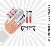 medical care design  | Shutterstock .eps vector #388783981