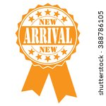 new arrival icon on a white ... | Shutterstock .eps vector #388786105