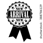 new arrival icon on a white ... | Shutterstock .eps vector #388786129