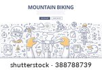 doodle vector illustration of... | Shutterstock .eps vector #388788739
