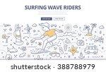 doodle vector illustration of... | Shutterstock .eps vector #388788979