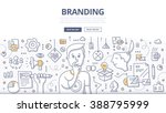 doodle vector illustration of... | Shutterstock .eps vector #388795999