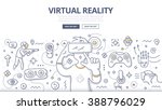 doodle vector illustration of... | Shutterstock .eps vector #388796029