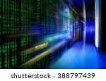 series mainframe in a... | Shutterstock . vector #388797439