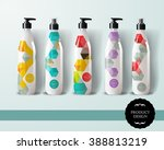 mockup template for branding... | Shutterstock .eps vector #388813219