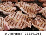 grilled meat | Shutterstock . vector #388841065