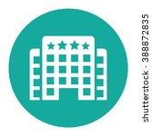 hotel vector icon.