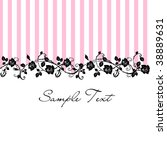 Seamless Floral Rose Pattern...
