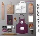 vector bakery corporate... | Shutterstock .eps vector #388896835