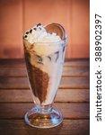 biscuit frappe cappuccino | Shutterstock . vector #388902397