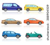 collection cars icons set. 6... | Shutterstock .eps vector #388904509