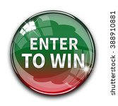 enter to win button isolated   Shutterstock . vector #388910881