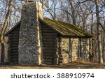Log Cabin In The Woods....
