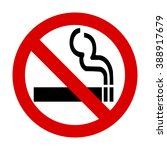 no smoking sign | Shutterstock .eps vector #388917679