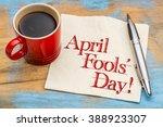 April Fools' Day  Handwriting...