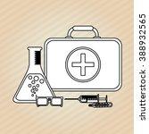 medical care design  | Shutterstock .eps vector #388932565