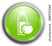healthy food icon | Shutterstock .eps vector #388955065