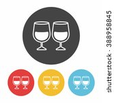 glass cup icon | Shutterstock .eps vector #388958845