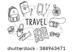 travel tour tourism holiday... | Shutterstock . vector #388963471